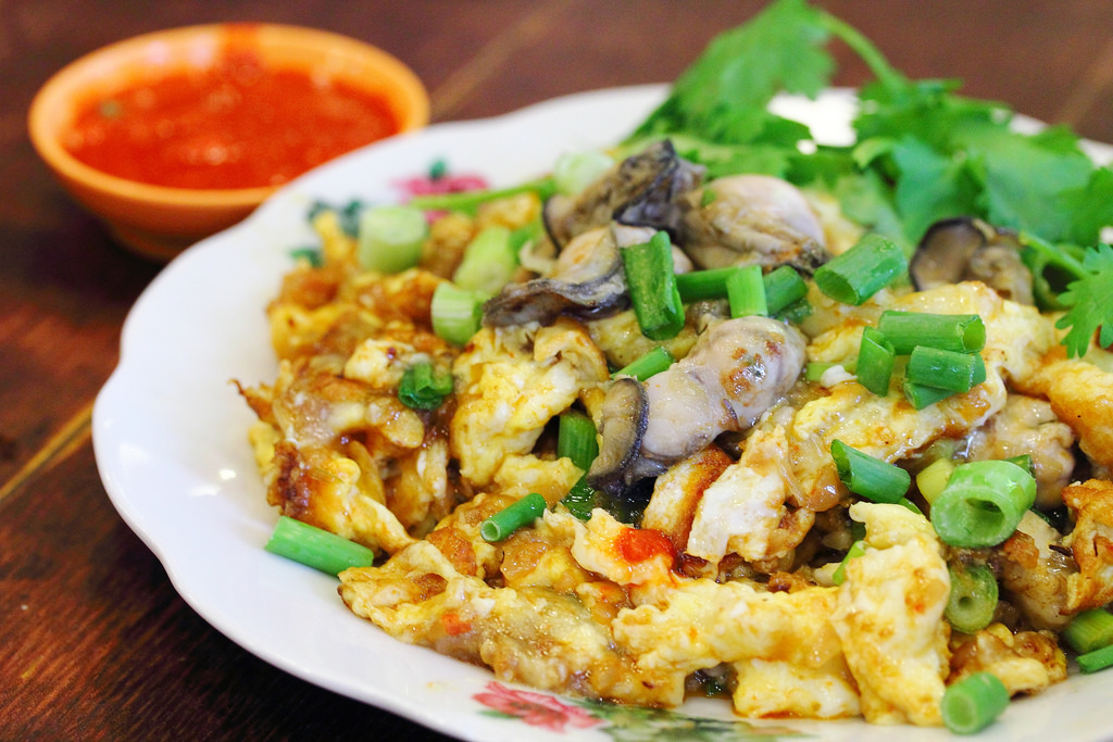 Oyster Omelette singapore