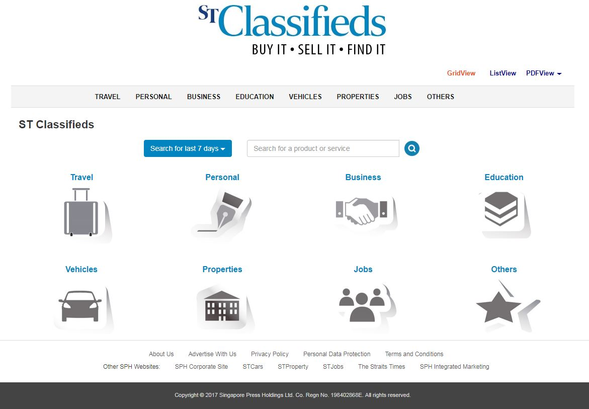Stclassifieds Directory