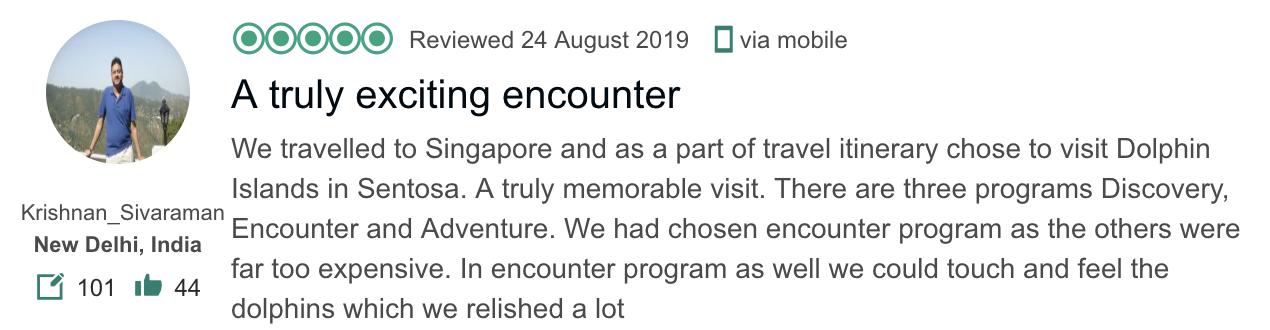 Dolphin Island Singapore