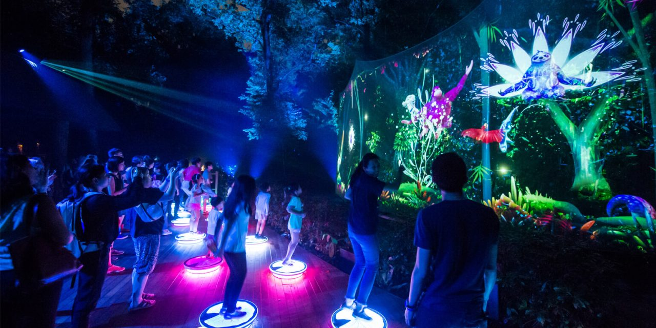 Rainforest Lumina Review: The Night Is Alive