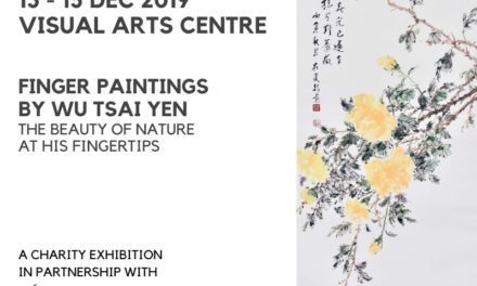 Art Events Singapore: Finger Paintings by Wu Tsai Yen