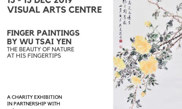 Art Events Singapore: Finger Paintings by Wu Tsai Yen