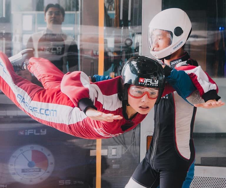 The iFLY Singapore Experience