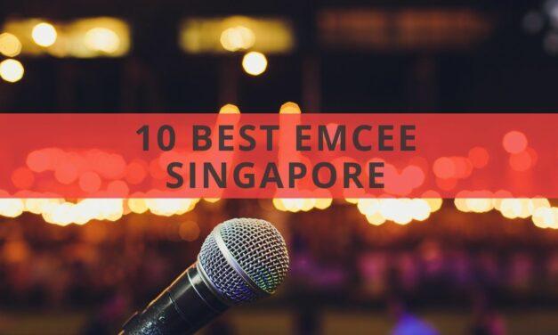 10 Best Emcee Singapore